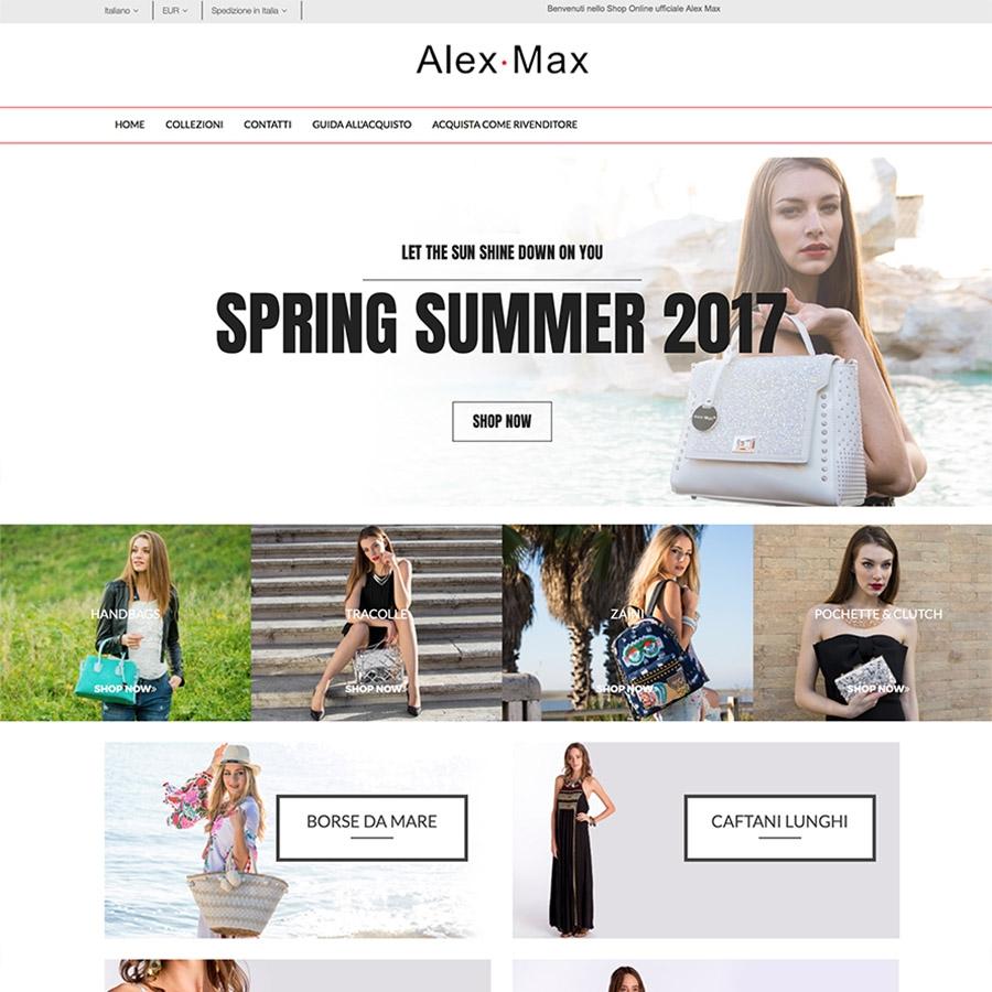 Sistema E-commerce Alex Max