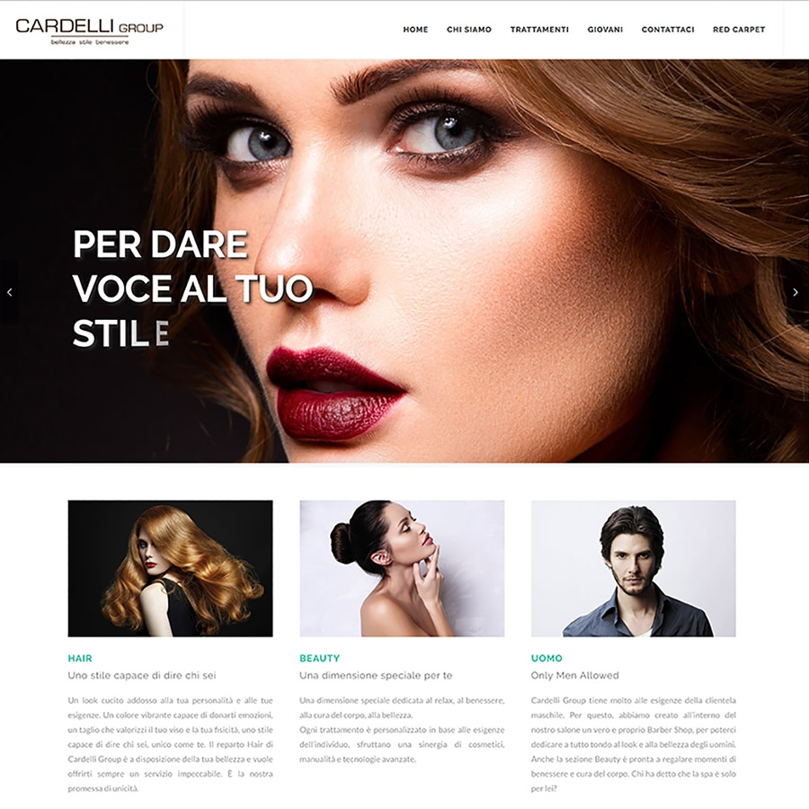 Sistema E-commerce Cardelligroup
