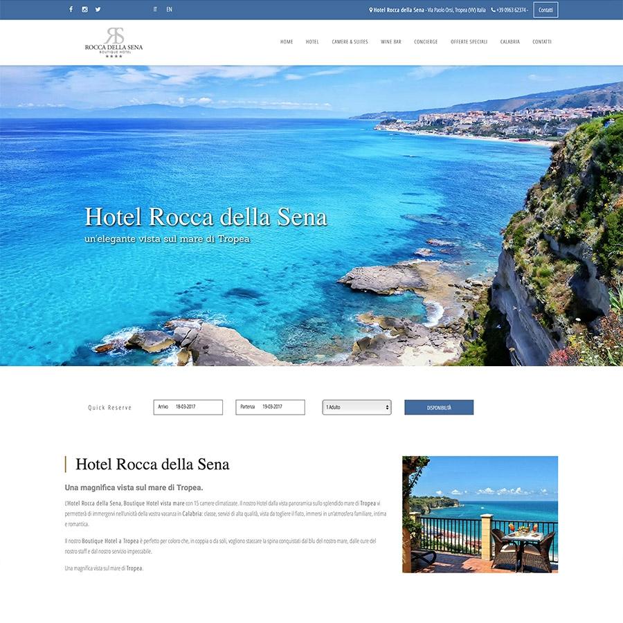 Sito web Hotel Rocca della Sena
